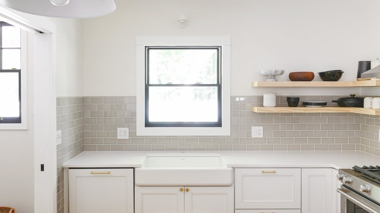 how to tile a kitchen backsplash or any wall really