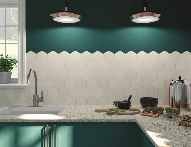 hexagon tile style get inspired with