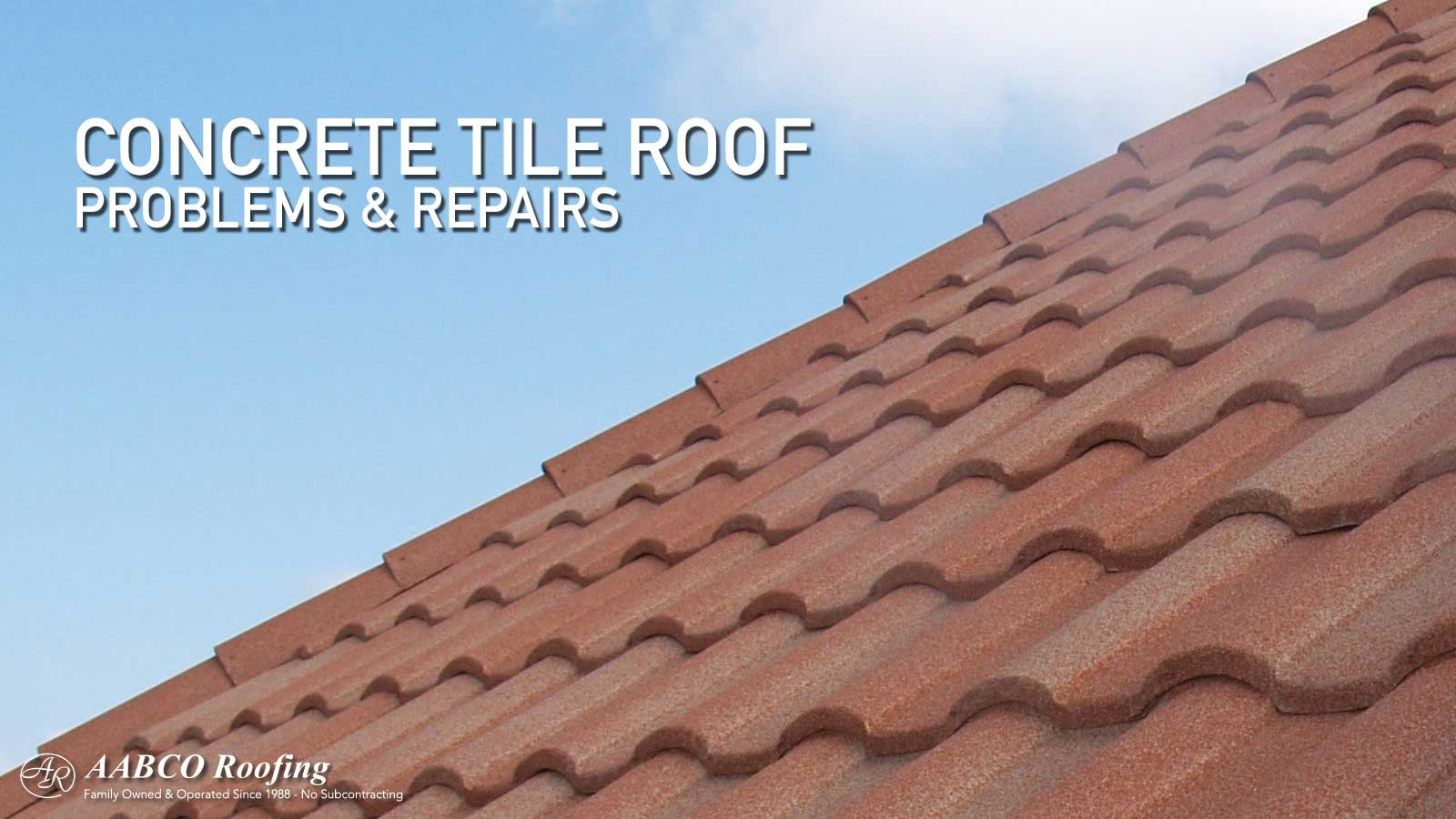 concrete tile roofs the good the bad