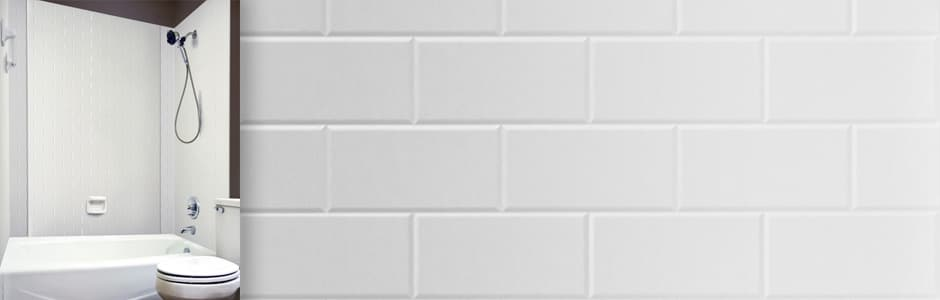 install subway tile in the bathroom