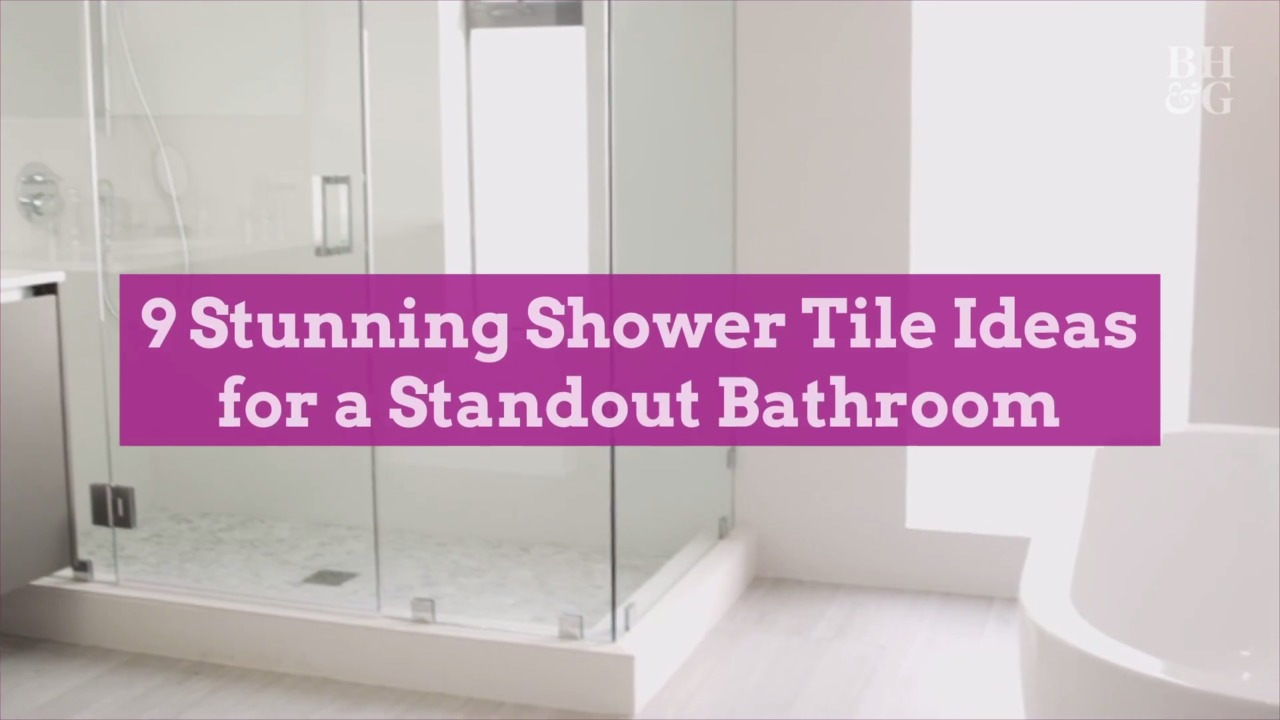 9 stunning shower tile ideas for a standout bathroom