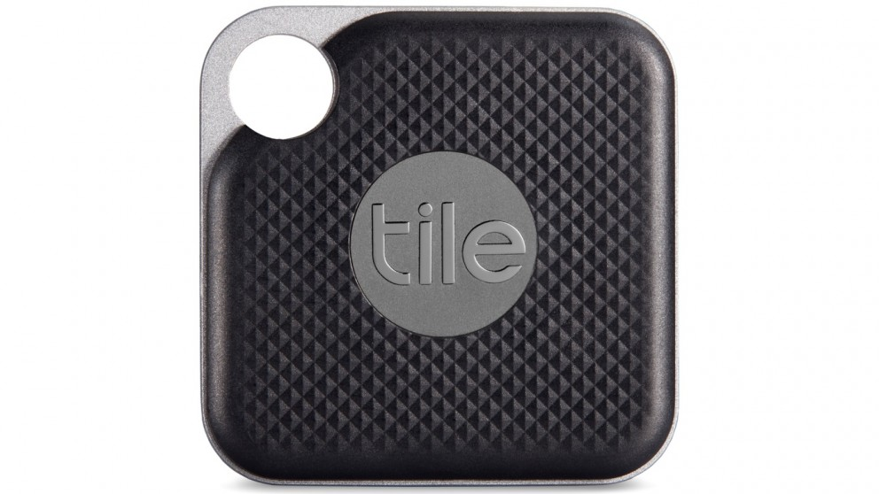 tile pro single pack bluetooth tracker with user replaceable battery black